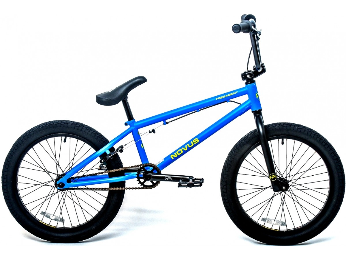 FREEAGENT NOVUS RT MATT BLUE BMX FREESTYLE