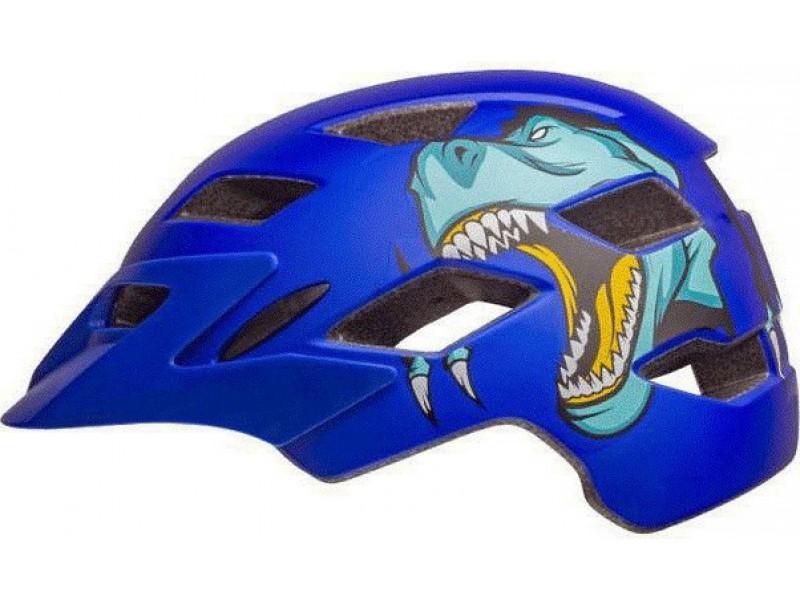 BELL SIDETRACK T-REX MATTE BLUE