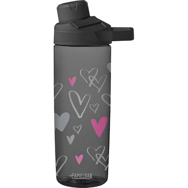 CamelBak Παγούρι Chute Mag 600ml (Sketched Hearts)
