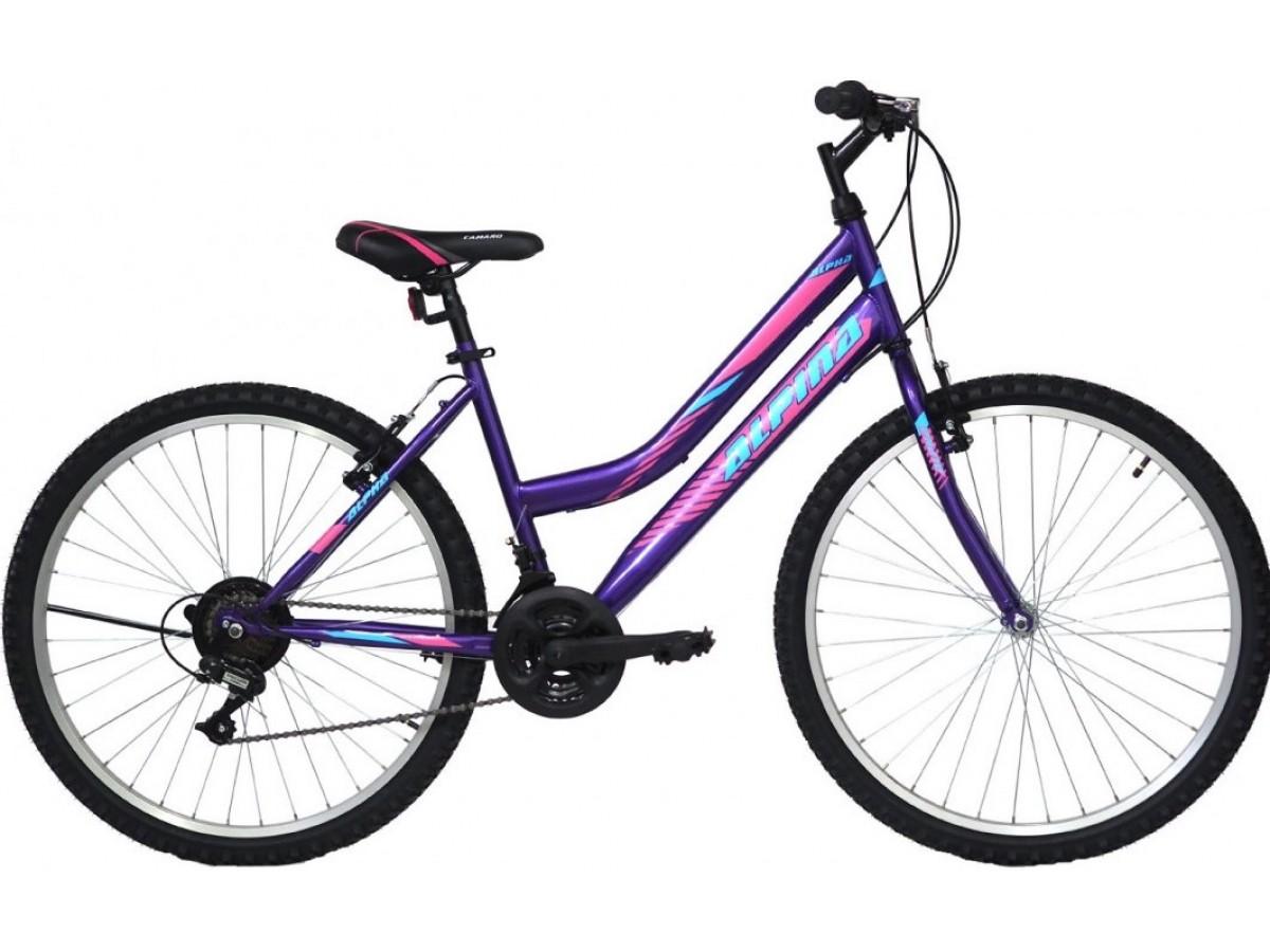 ΠΑΙΔΙΚΟ ΠΟΔΗΛΑΤΟ - Alpina Alpha MTB 24x12 Purple 2021 24'' ( 9 - 11 ΕΤΩΝ )