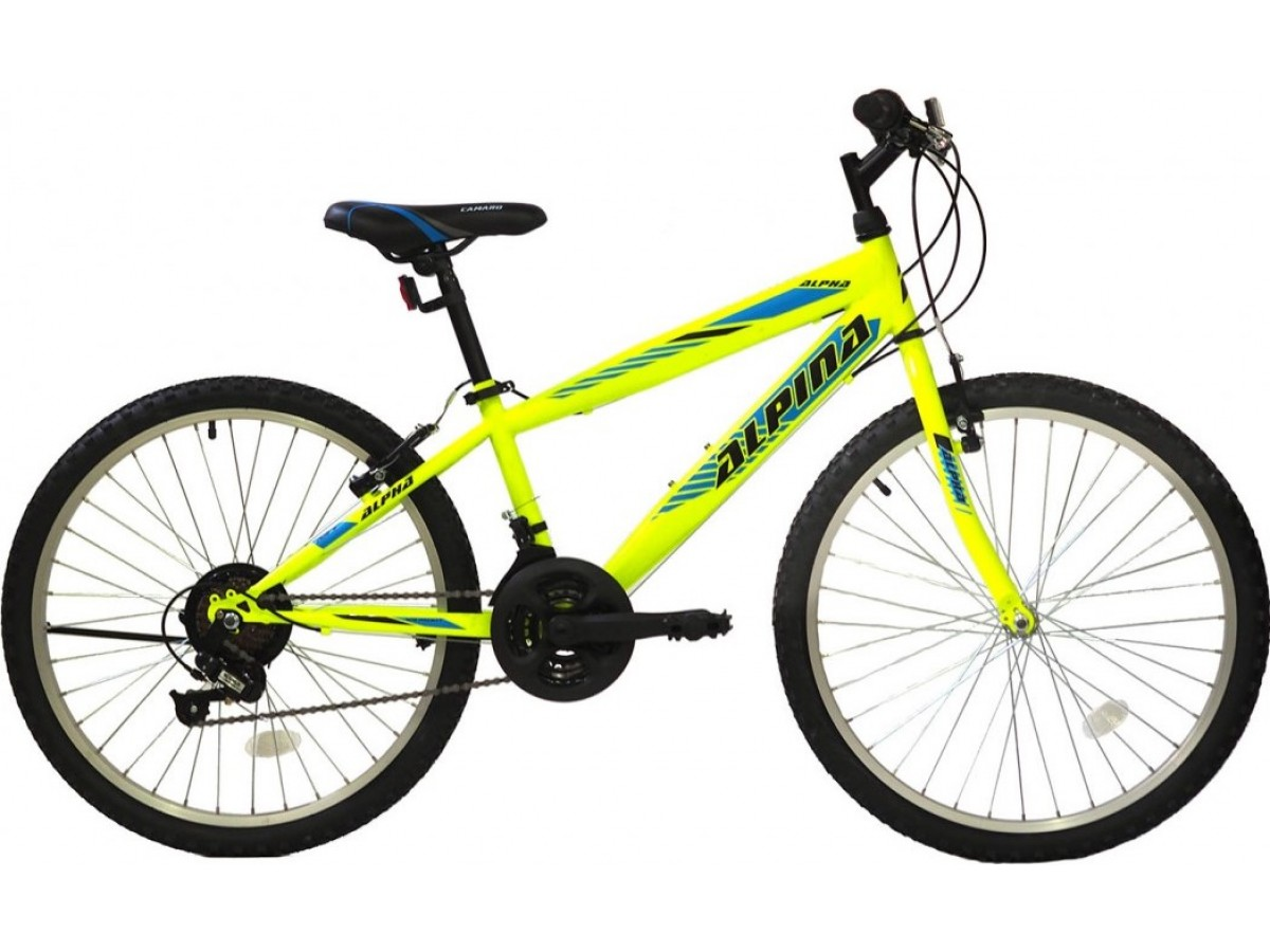 Alpina Alpha MTB 26x14,5 LIME 2021 MOUNTAIN BIKES