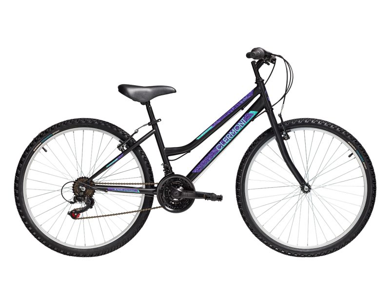 "CLERMONT Magusta 24"" 620 - Shimano 2020  ΜΑΥΡΟ ΜΩΒ"
