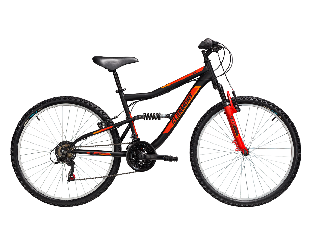 CLERMONT 634 Pamir 24″ Shimano 2021 BLACK RED 24'' ( 9 - 11 ΕΤΩΝ )