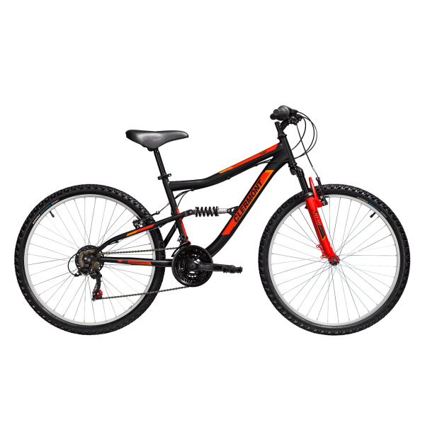 CLERMONT 634 Pamir 24″ Shimano 2021 BLACK RED
