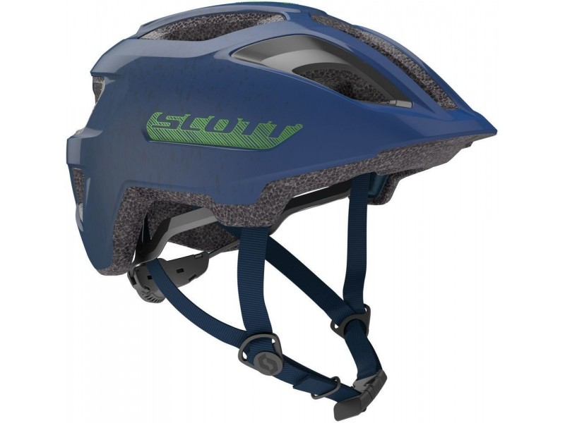 Scott Spunto Junior Helmet με φως blue