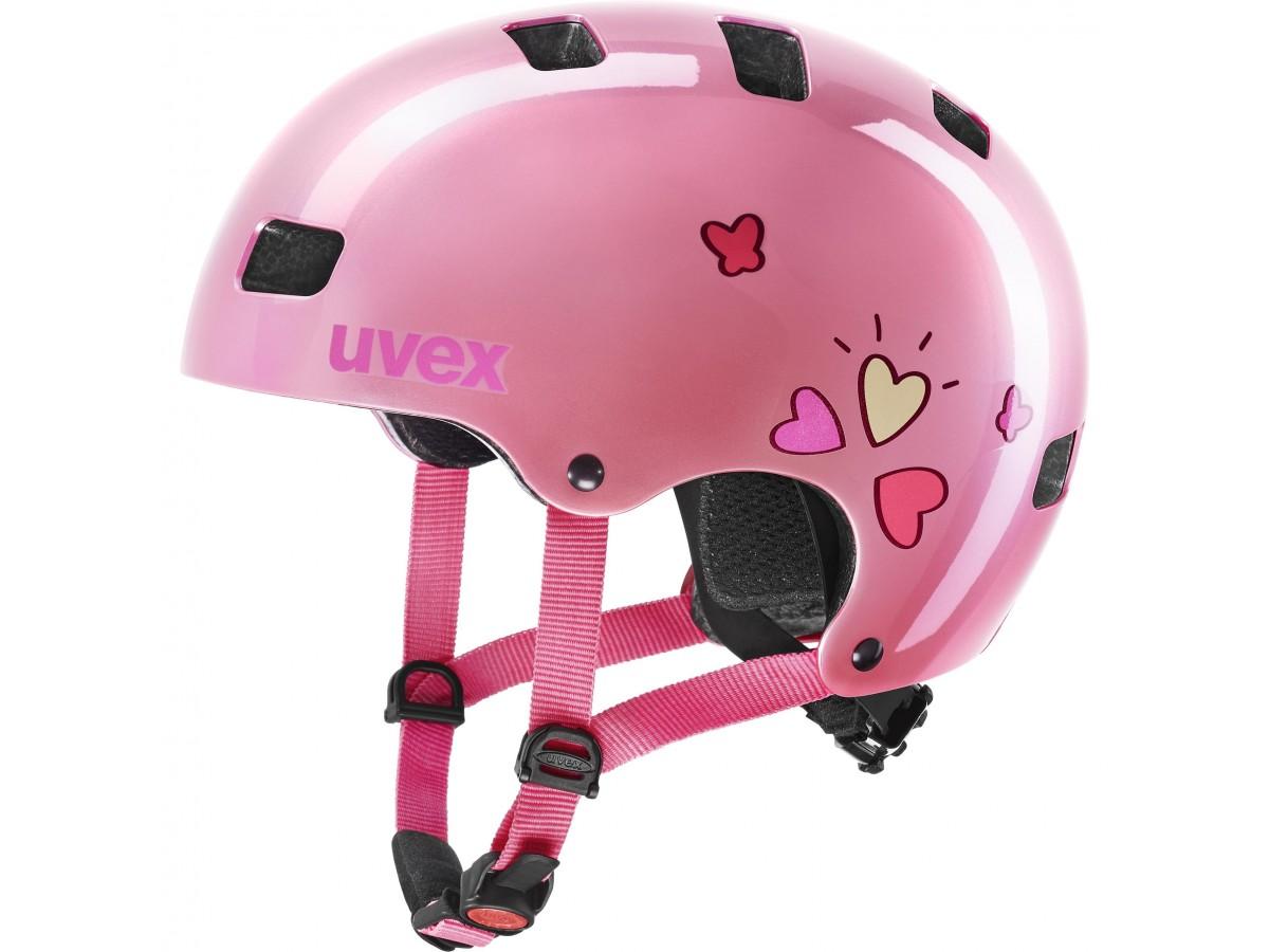 ΠΑΙΔΙΚΑ ΚΡΑΝΗ ΠΟΔΗΛΑΤΟΥ - UVEX KID 3 pink heart ΠΑΙΔΙΚΑ ΚΡΑΝΗ