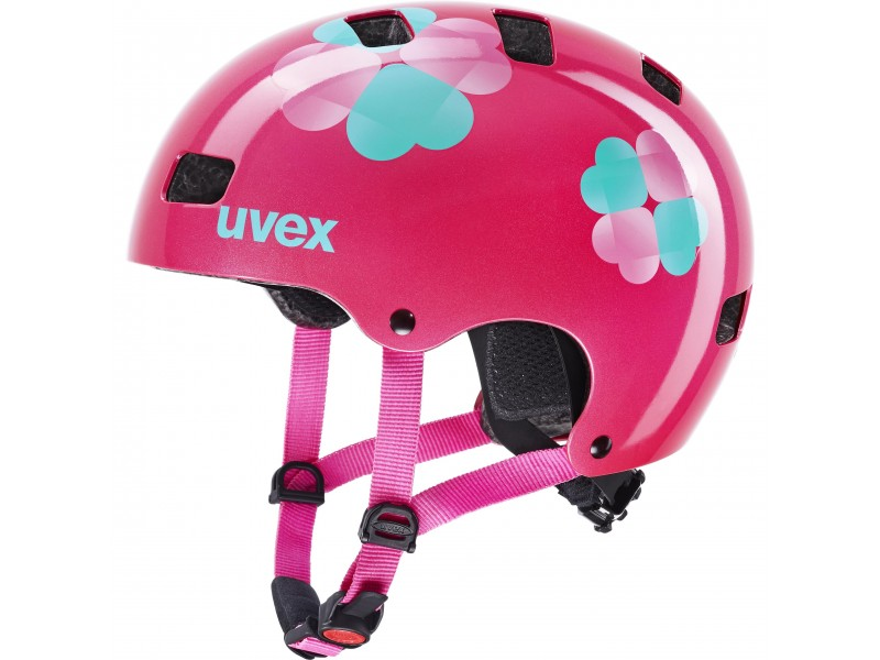 UVEX KID 3 pink flower