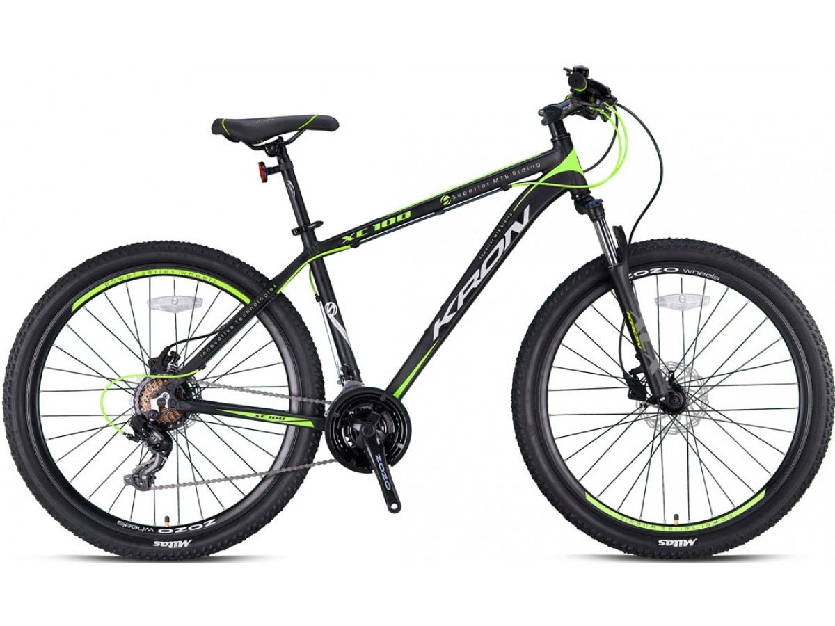 KRON XC 100 27,5'' 2021 V-BRAKE  BLACK MOUNTAIN BIKES