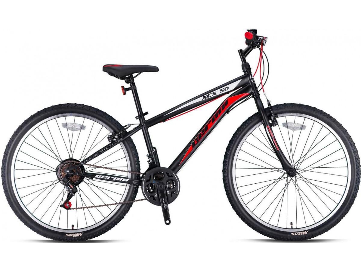 "Geroni XCX 50 26"" 2021 Μαύρο/Κοκκινο MOUNTAIN BIKES"